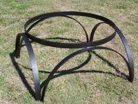 Wagon Wheel Stand